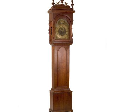 Walnut Queen Anne Tall Case Clock (SOLD)