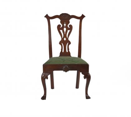 Walnut Queen Anne Side Chair (SOLD)