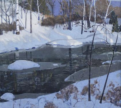 """Winter Evening"" by Carl Lawless (SOLD)"