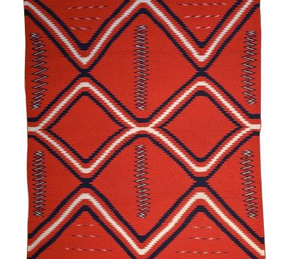 Late Classic Germantown Navajo Eyedazzler Blanket (SOLD)