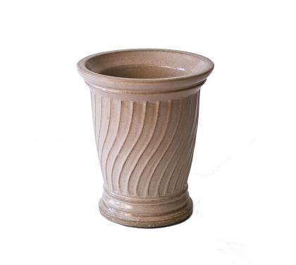 Rare Glazed Buff-Colored Galloway Pot