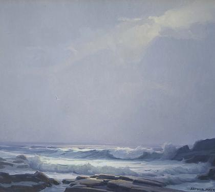 Seascape by Arthur Maynard (SOLD)
