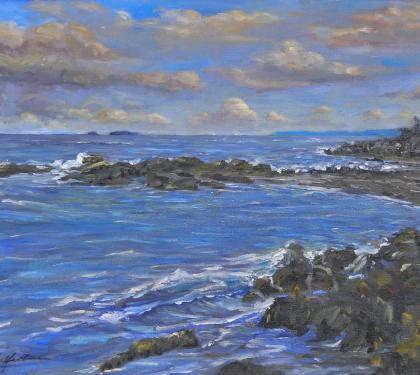 """Cliff Island"" by Richard Chalfant"