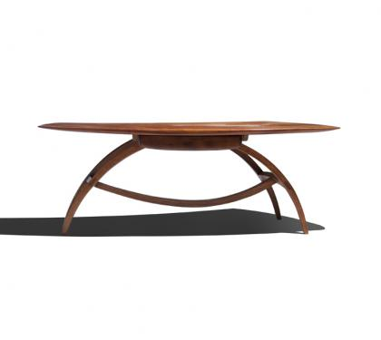 Exceptional and Unique Applewood Coffee Table by Wharton Esherick