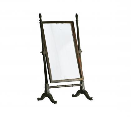 Mahogany Sheraton Cheval Mirror