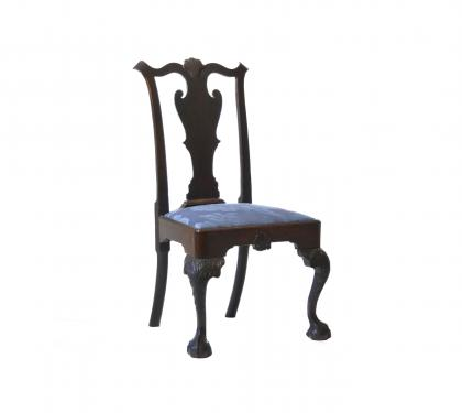 Mahogany Chippendale Side Chair