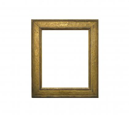 Hand Carved Frame by Whatron Esherick