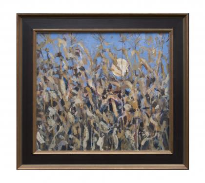 "Acyrlic on Panel Entitled"" October Corn"" by John Suplee"
