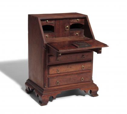A Very Rare & Important Miniature Desk (SOLD)