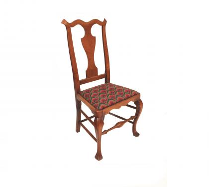 Maple Queen Anne Side Chair