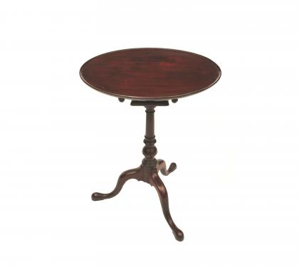 Mahogany Queen Anne Candlestand