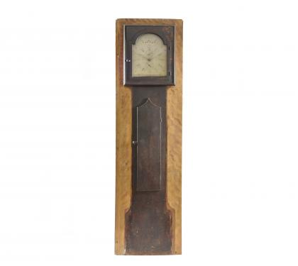 A Very Rare Architectural Faux Front Tall Case Clock