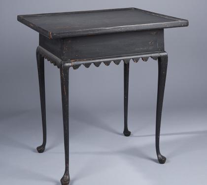 Maple Queen Anne Tea Table