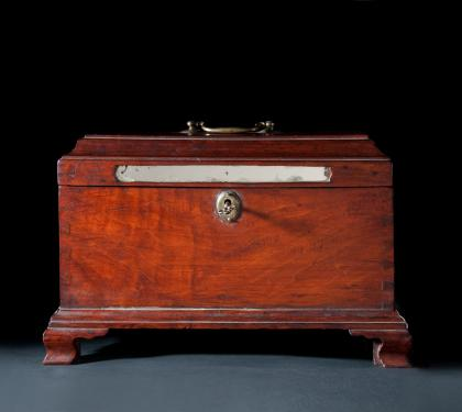 Cherry Chippendale Box (SOLD)
