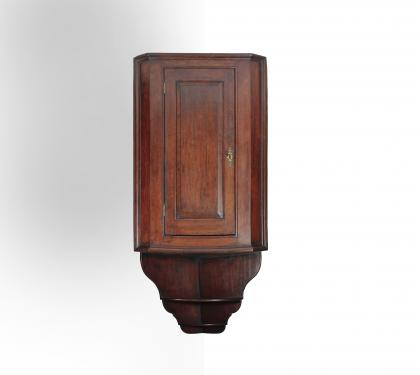 Rare Walnut Hanging Cupboard