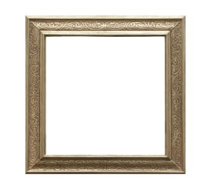 Gold Gilded Carved Frame by Frederick Harer