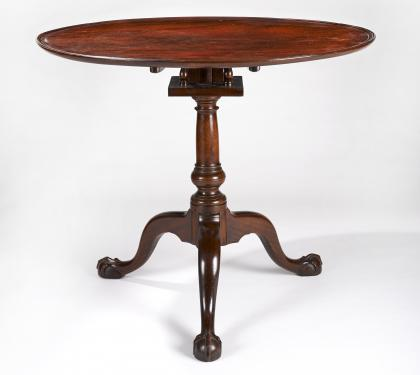 Mahogany Chippendale Tea Table