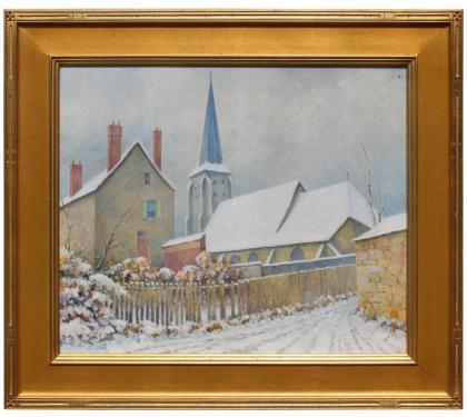 """Rue de Leglish Church"" by Albert van Neese Greene"