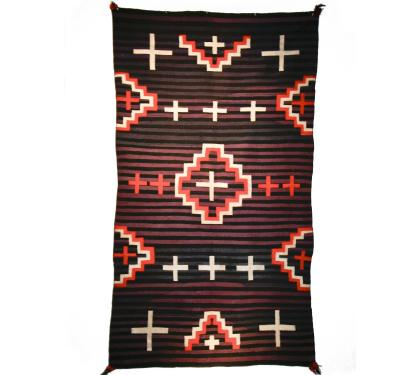 Classic Germantown Navajo Moqui (Moki) Blanket