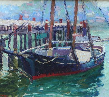 Gloucester Harbor by Fern Isabel Kuns Coppedge (SOLD)
