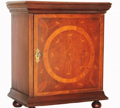Rare Walnut William and Mary Chester County Spice Chest (SOLD)