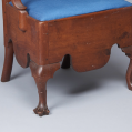 Walnut Queen Anne Potty Chair