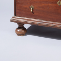 Walnut William and Mary Low Chest of Drawers